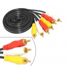 3RCA To 3RCA Video Audio Cable