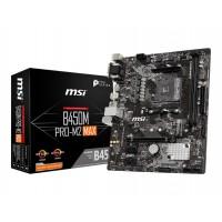 MSI B450M PRO M2 MAX Gaming m-ATX Motherboard Socket-1st, 2nd and 3rd Gen AMD Ryzen AM4 Socket with 2 DDR4 ram Slot