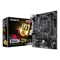 Motherboard GIGABYTE GA-A320M-S2H (AMD Ryzen AM4 / MicroATX / 2xDDR4/ HDMI/ Realtek ALC887/ 3xPCIe/ USB3.1 Gen 1/ LAN)