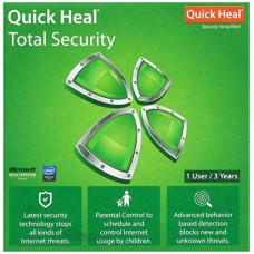 Quick Heal Total Security 1 user 3 year
