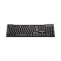 Keyboard USB Wired K16 Black Zebronics