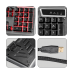 Keyboard And Mouse Combo Usb Gaming Premium Transformers Zebronics