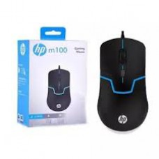 HP M100 Wired Gaming Optical Mouse (Black)