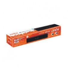 Artis BT-X1 Wireless Portable Bluetooth Speaker/Sound Bar with USB Input/FM Radio/Card Reader/Aux Input/Mic for Hands-Free Calling/BT 4.1 + EDR (Matte Black)
